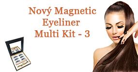 Nový MAGNETIC EYELINER MULTI KIT - Väčšie balenie za výhodnú cenu