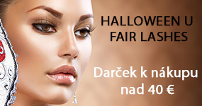 HALLOWEENSKÁ akcia u Fair Lashes