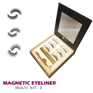 Magnetický set: MAGNETIC EYELINER KIT 3 - VOLUME