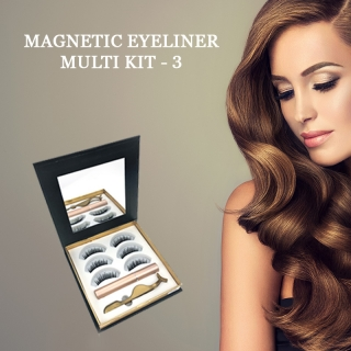 Magnetický set: MAGNETIC EYELINER KIT - 3